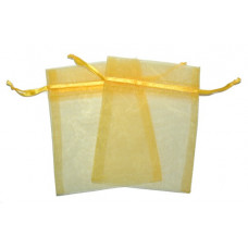 Med Organza Bags - Yellow