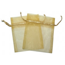 Med Organza Bags - Gold
