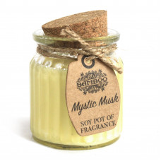 Mystic Musk Soy Pot of Fragrance Candles