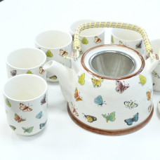 Herbal Teapot Set - Butterflies