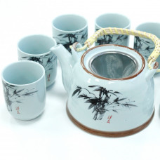 Herbal Teapot Set - Blue Stone Oriental