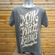 Milk With Knives T-Shirt (Mens)