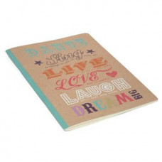 Happy Quotes Soft Cover Notebook  (Dream)