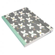 A5 Perfect Bound Clover Leaf Notebook (green)