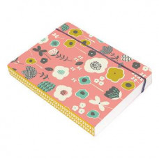 Clover Leaf A6 Perfect Bound Notebook (pink)