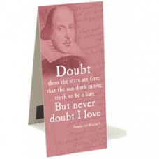 Shakespeare Bookmark - 'Doubt thou the stars..'