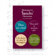 Shakespeare's Insults Badge Set