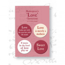 Shakespeare's Love Badges