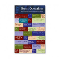 Burns Quotations Magnets