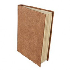Treeless Lokta Paper A5 Hardbound Notebook (leather effect)