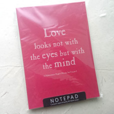 Shakespeare's Love A6 Notepad
