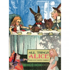Alice in Wonderland ~ Die-Cut Note Cards