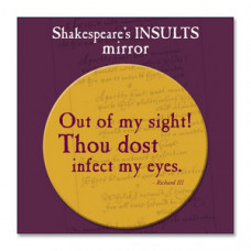 Shakespeare's Insults Pocket Mirror