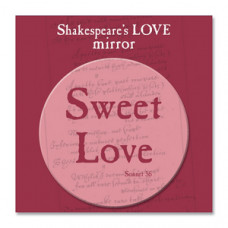 Shakespeare's Love Pocket Mirror