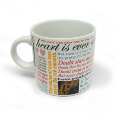 Shakespeare's Love Mug