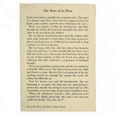 The Story of an Hour by Kate Chopin Tea Towel